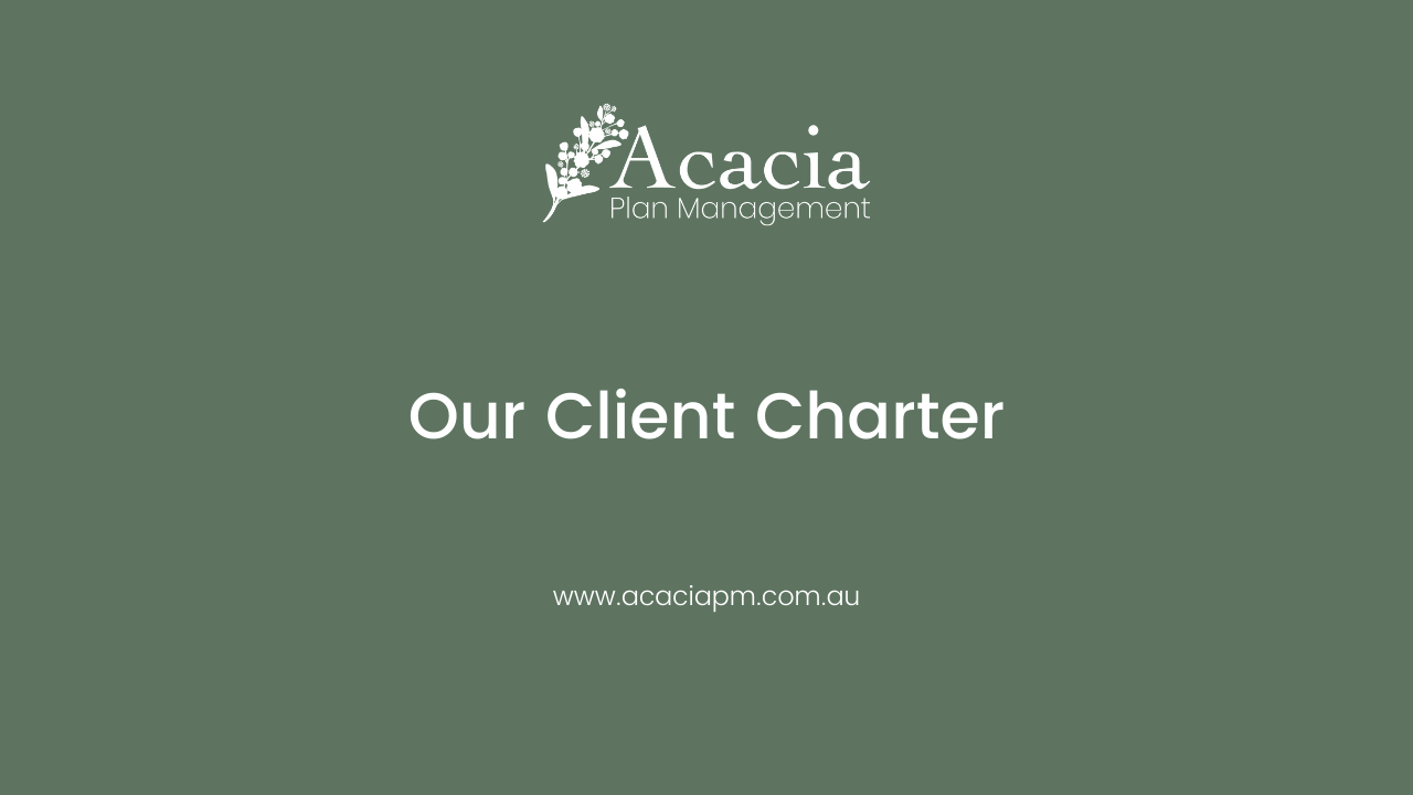 Our Client Charter