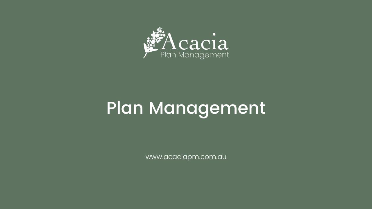 Plan Management Fact Sheet