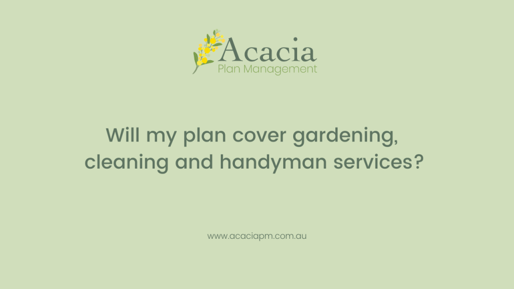 Acacia Plan Management services covered NDIS