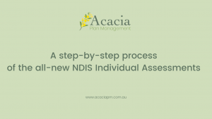 Acacia Plan Management NDIS Independent Assessment Process