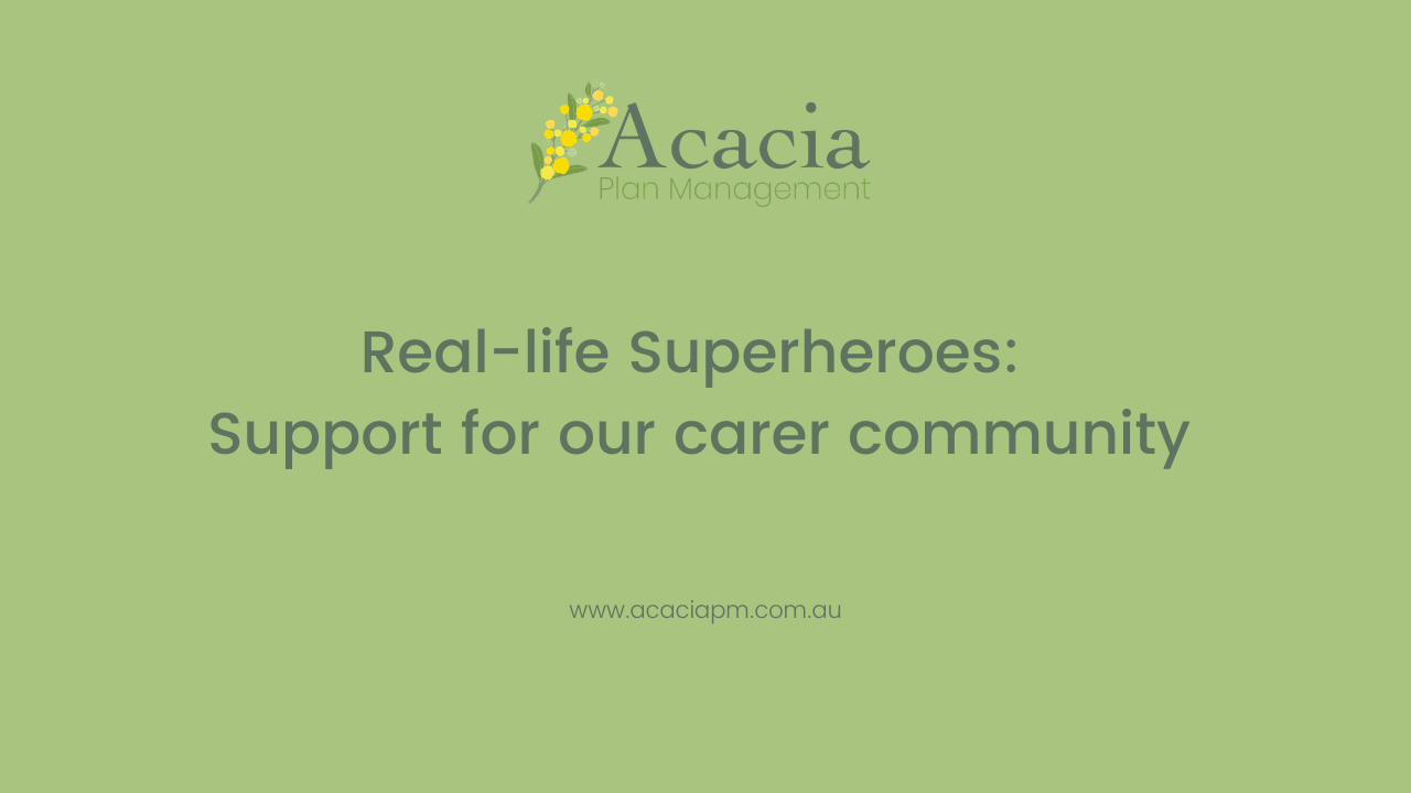 Real-life Superheroes: Support for our carer community