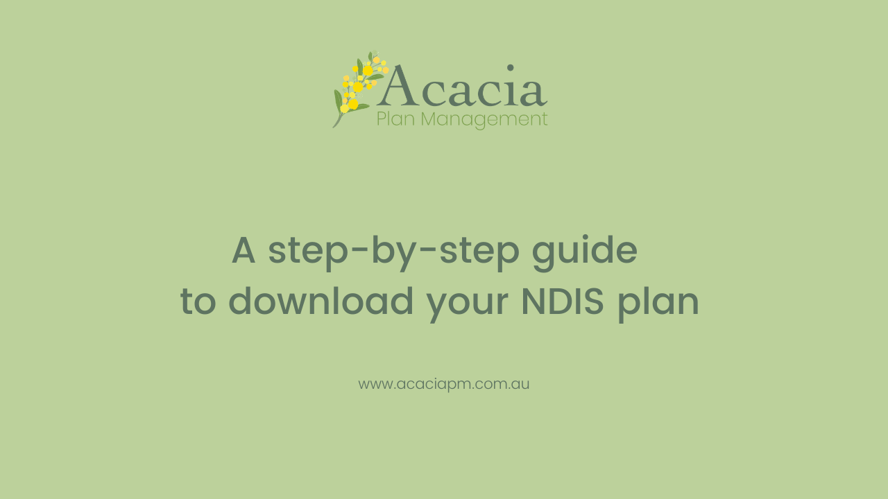A step-by-step guide to download your NDIS plan