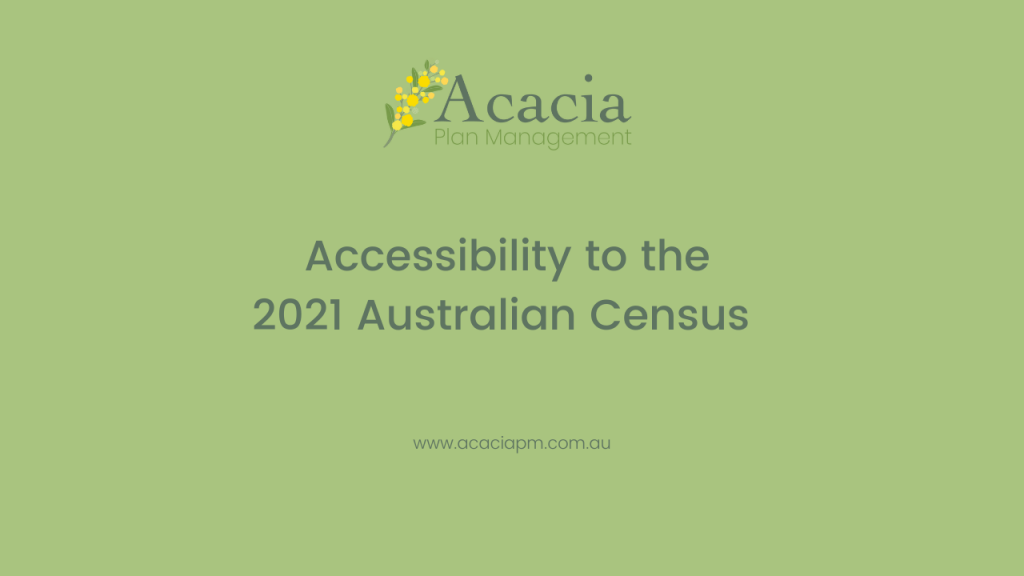 Acacia Plan Management 2021 census accessibility
